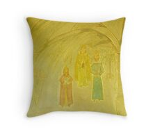 Journey guided by LIGHT Throw Pillow