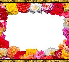 Festive floral frame   by mari8008