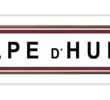 Alpe d'Huez Replica Road Sign Sticker