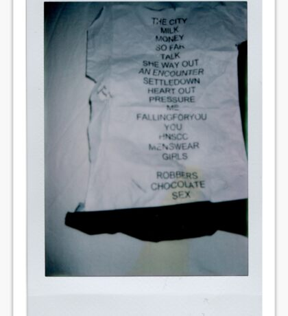 The 1975 Setlist Sticker