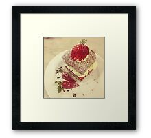 Sweet Lamington Framed Print