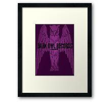 Dark Owl Records Framed Print