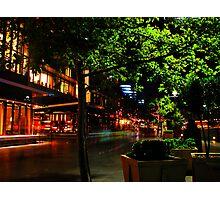 Crown Casino Promenade  Photographic Print