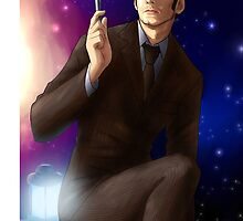 Tenth Doctor by MissAinley
