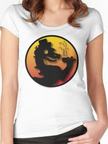 Civilized Kombat Women's Fitted Scoop T-Shirt