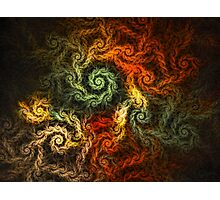 Spirals Of Yarn Photographic Print
