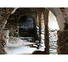 abandoned monastery Photographic Print