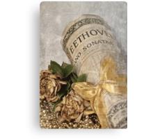 Beethoven's Gift . . . Metal Print