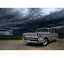 '56 Bel Air Classic Photographic Print