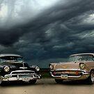 '54 Chevy Deluxe & '57 Bel Air Custom by block33