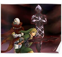 Link and Ghirahim Poster
