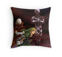 Link and Ghirahim Throw Pillow