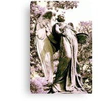 Black Angel Canvas Print