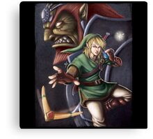 The Hero of Hyrule Canvas Print
