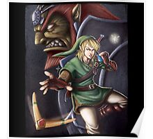 The Hero of Hyrule Poster