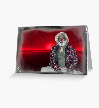 tribal elder Greeting Card