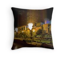 Crown Promenade Throw Pillow
