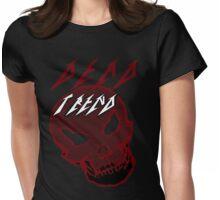Dead Trend (Evil Skull) Metallica Font Womens Fitted T-Shirt