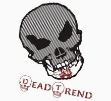 Dead Trend Evil Skull-Bloody Chin by RazorbladeTrend