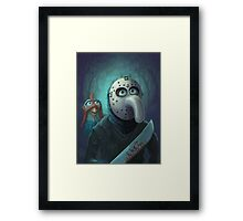 Muppet Maniacs - Gonzo Voorhees Framed Print