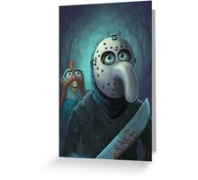Muppet Maniacs - Gonzo Voorhees Greeting Card