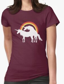 Unicorn Love Womens Fitted T-Shirt