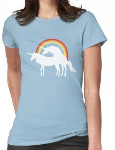 Unicorn Love Womens Fitted T-Shirt