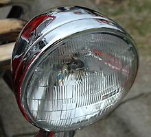 Car Headlight.  by nJohnjewell