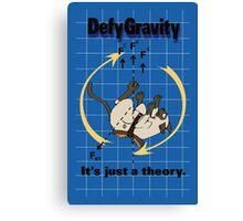 Defy Gravity Canvas Print