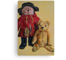 Bears with attitude. 2014© Canvas Print