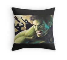 Avengers  Throw Pillow