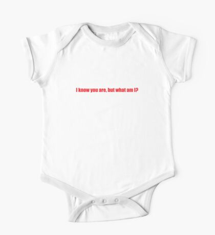 Pee-Wee Herman - I Know You Are But - Red Font One Piece - Short Sleeve