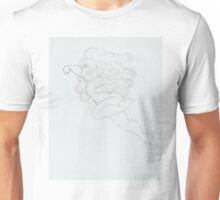 Rose Quartz - pencil sketch Unisex T-Shirt