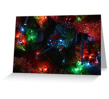 Christmas Tree Treats Greeting Card