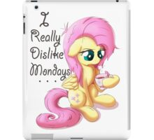 Good Morning Fluttershy iPad Case/Skin