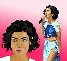 jhene aiko by mikehanz