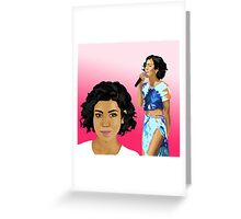 jhene aiko Greeting Card