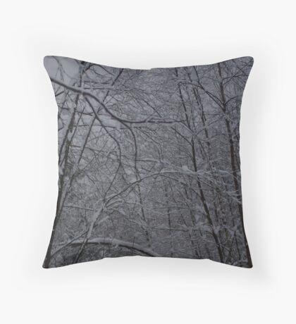 White Christmas 2 Throw Pillow