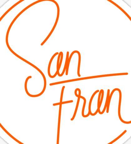 San Fran Sticker