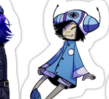 Noodle Phases Sticker