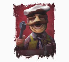 Muppet Maniacs - Swedish Chef as Leatherface Kids Clothes