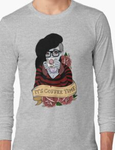 Adventure Time - It's Coffee Time (Marceline) Long Sleeve T-Shirt