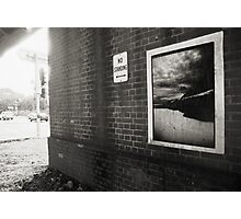 No Standing .... Blackwattle Bay closer Photographic Print