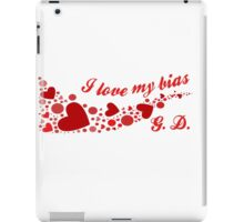 I LOVE MY BIAS SWIRL - G.D. iPad Case/Skin