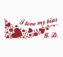 I LOVE MY BIAS SWIRL - G.D. Kids Tee