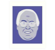 Pierce Hologram - Community - Chevy Chase Art Print