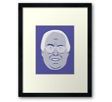 Pierce Hologram - Community - Chevy Chase Framed Print