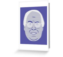 Pierce Hologram - Community - Chevy Chase Greeting Card