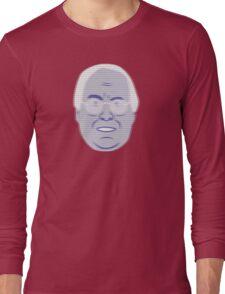 Pierce Hologram - Community - Chevy Chase Long Sleeve T-Shirt