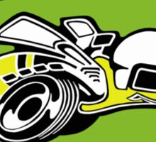 Superbee (green background) Sticker